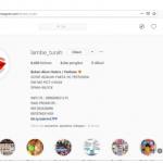 instagram lambe turah