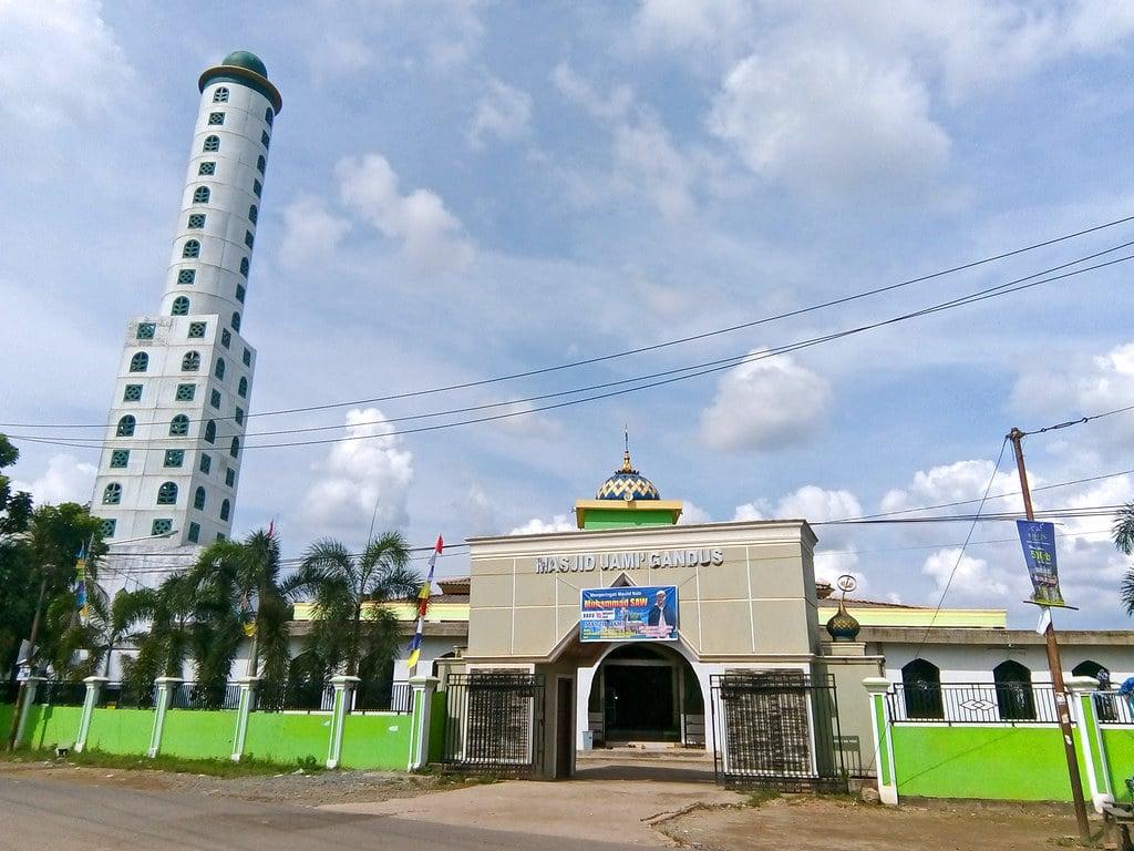 Masjid Jami Gandus Palembang