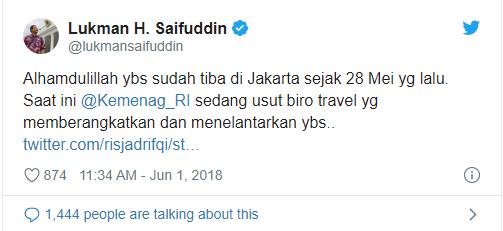 20 tahun menabung untuk umroh dari jualan padi dan ubi di Lombok, pria ini malah ditipu biro travel
