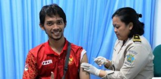 Kontingen Indonesia Wajib Suntik Vaksinasi dan Miliki Buku Sertifikat Vaksinasi